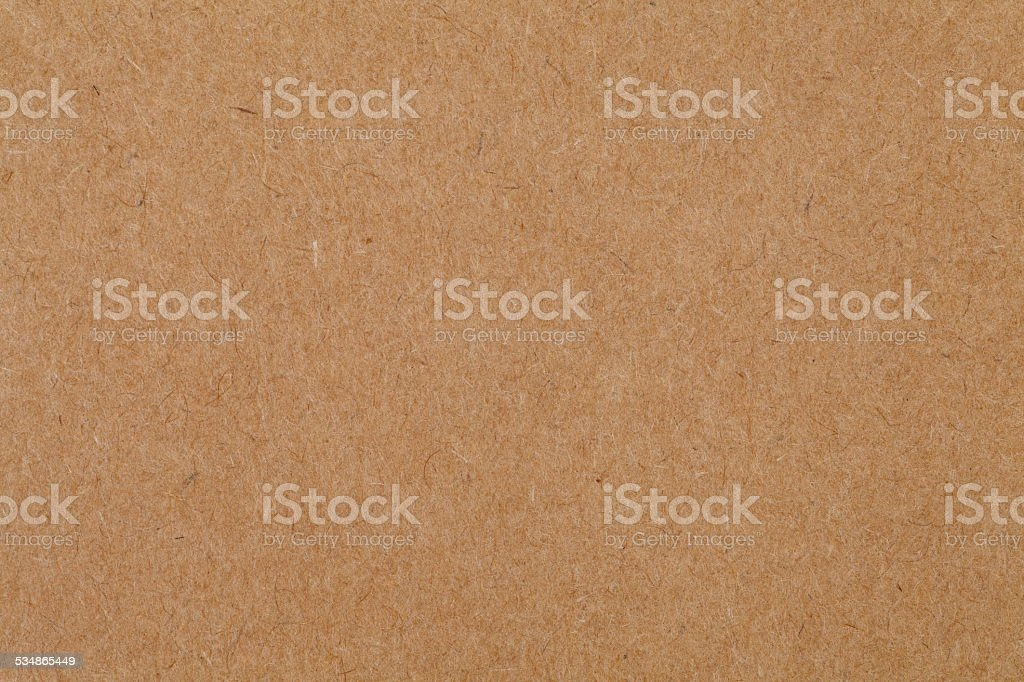 Close - up cardboard sheet of brown paper stock photo