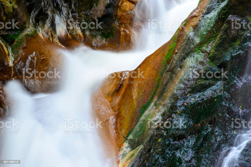 close up cascade of colors,in Taiwan stock photo