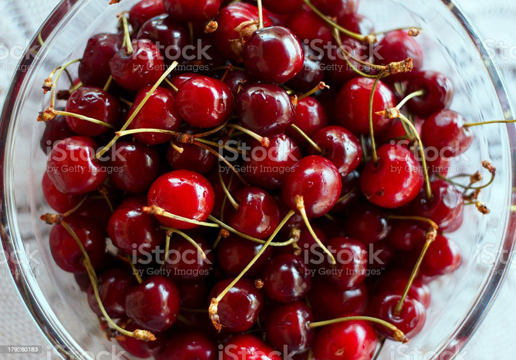 Close up cherry royalty-free stock photo