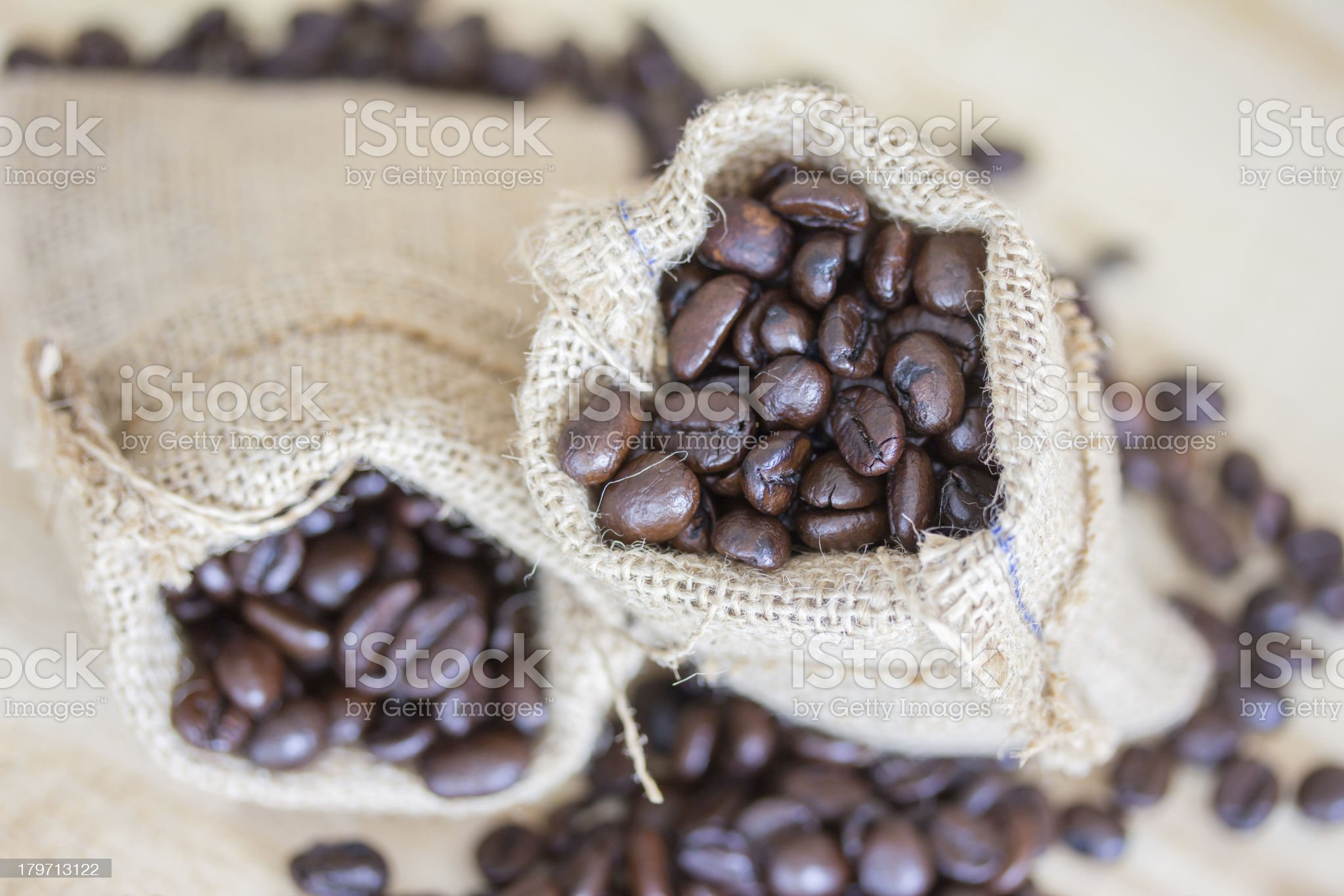 close up coffee beans royalty-free stock photo