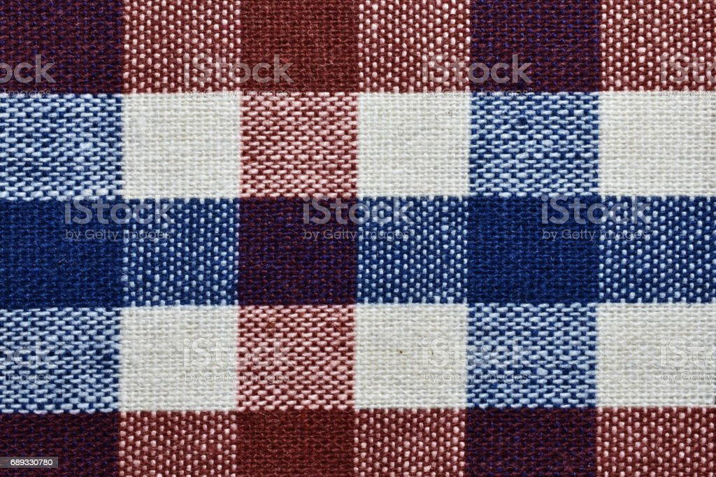 Close up color fabric texture stock photo