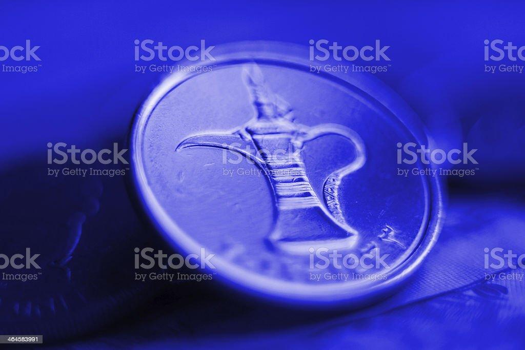 close up dirhams royalty-free stock photo