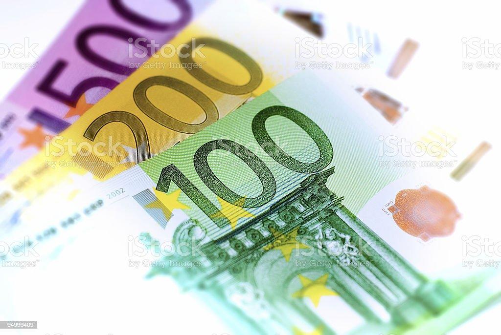 close up euro banknotes royalty-free stock photo