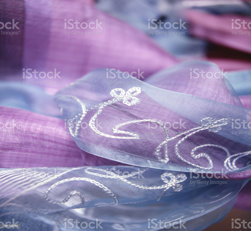 close up fabric royalty-free stock photo
