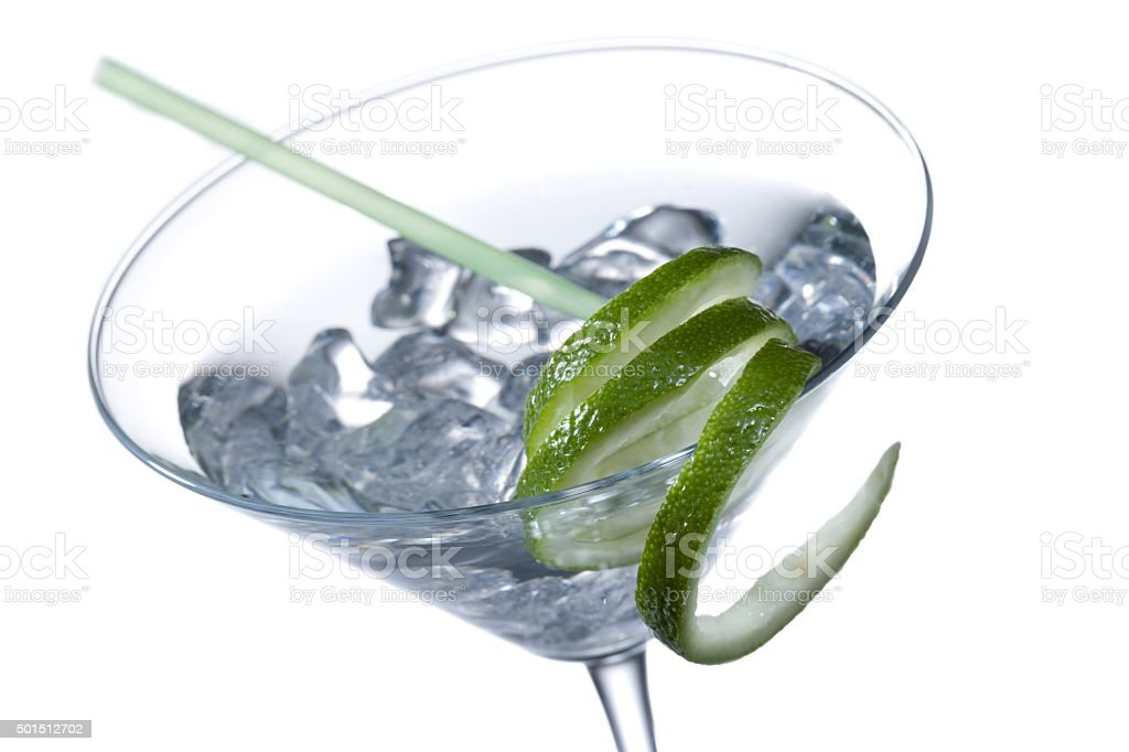 close up image of a cocktail drink stock photo