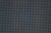 Close up LED TV display big screen panel seamless