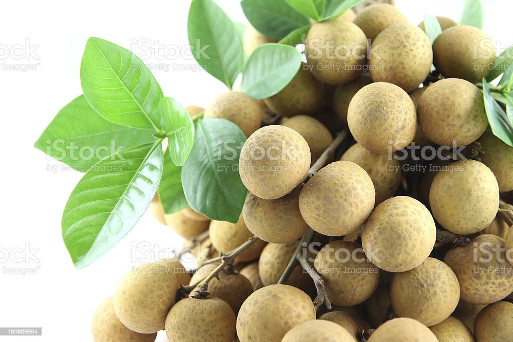 Close up longan of fruit. royalty-free stock photo