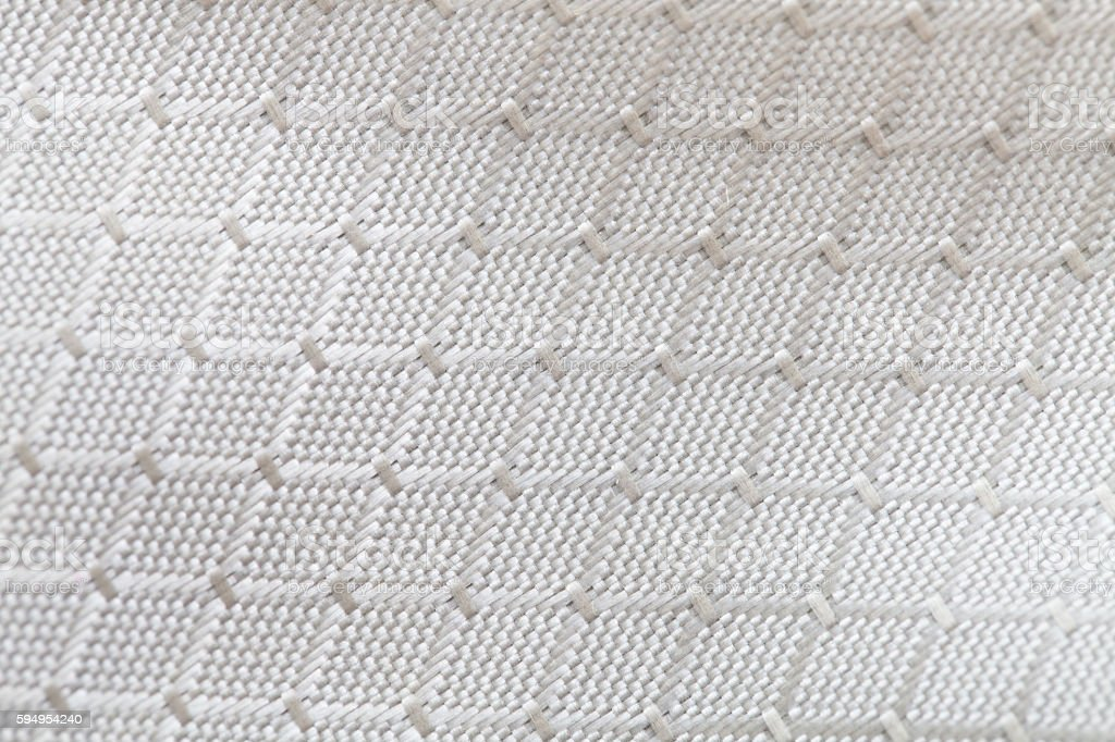 Close up macro grey cotton texture background stock photo