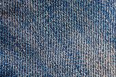 Close up macro jeans cotton texture background