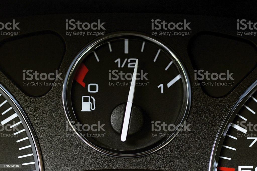 Close up modern car dashboard stock photo