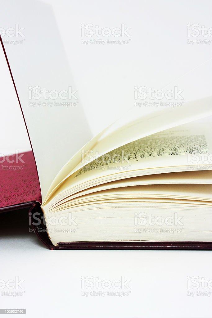 Nahaufnahme von einem Buch Lizenzfreies stock-foto