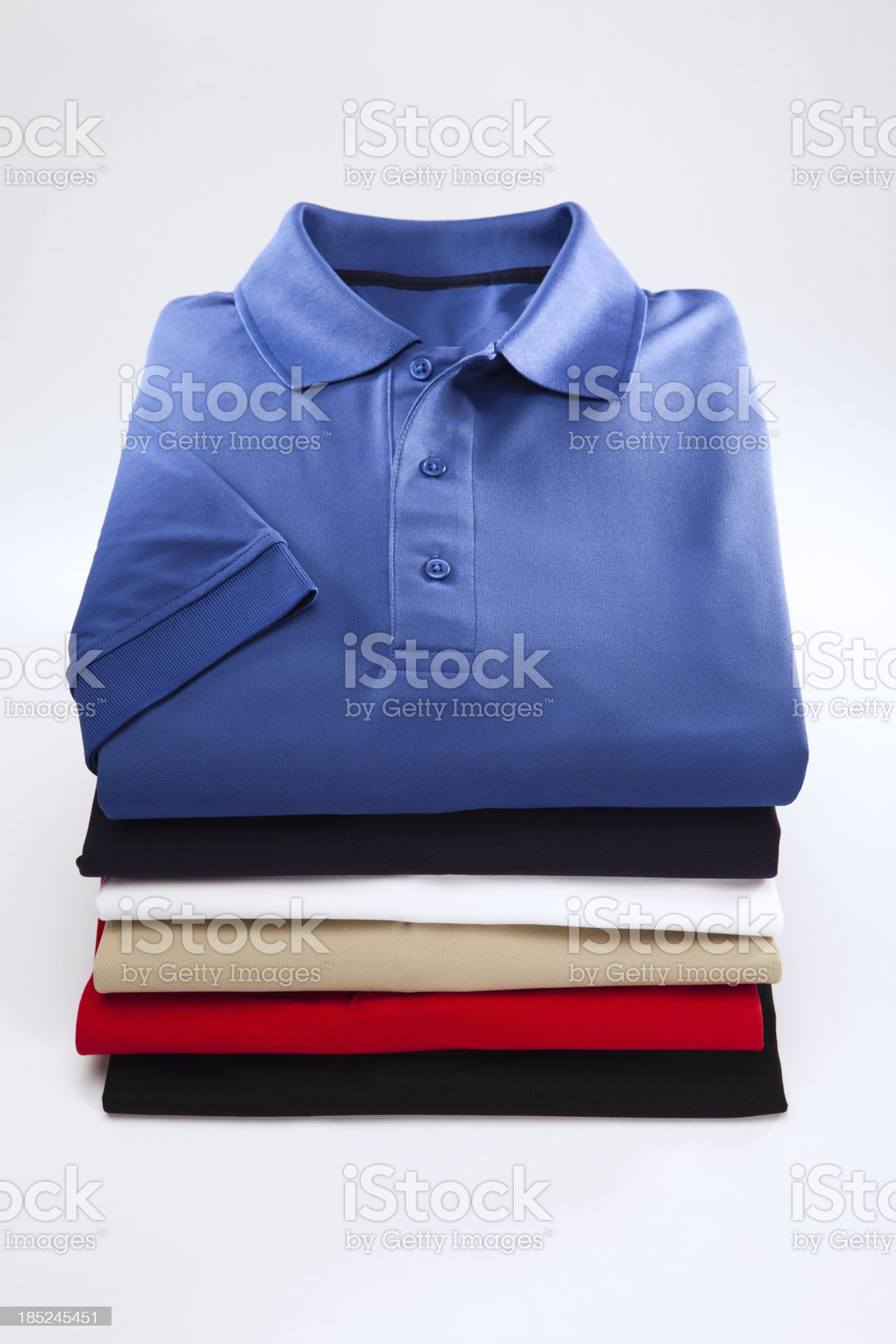 Close up of a mens shirts royalty-free stock photo