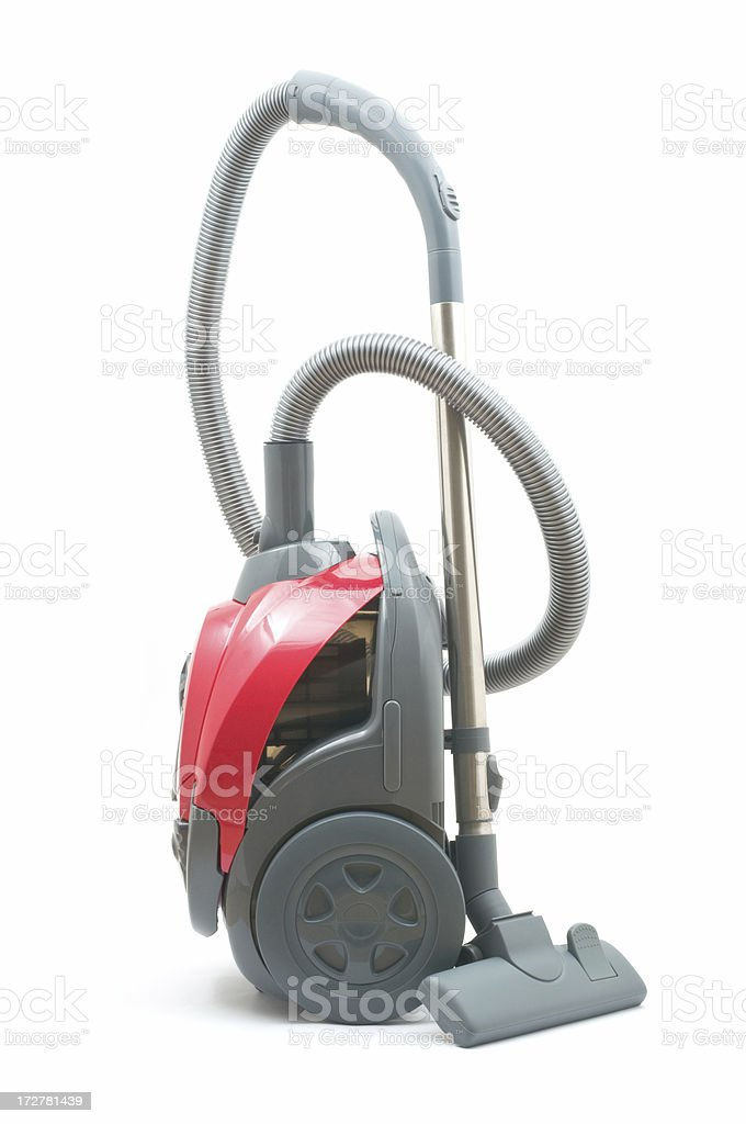 Close up of a vacuum cleaner royalty-free stock photo