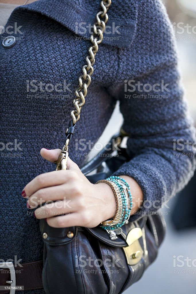 Close up of a young woman. royalty-free stock photo