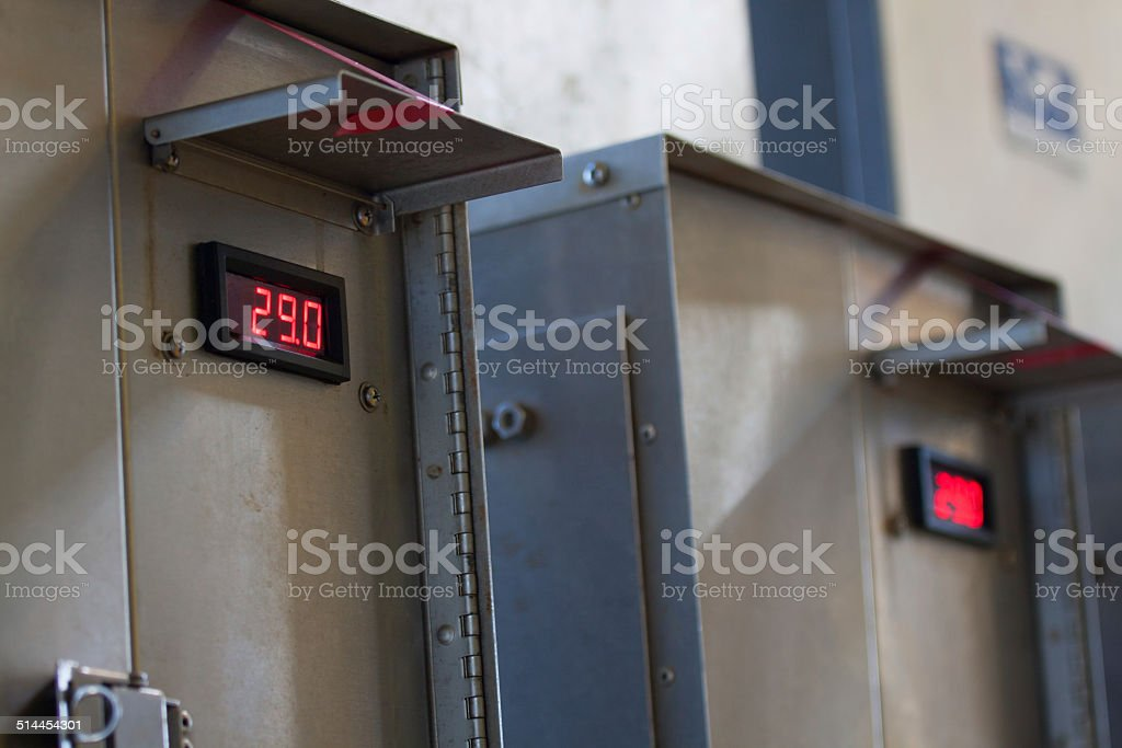 Close up of an Electric meter stock photo