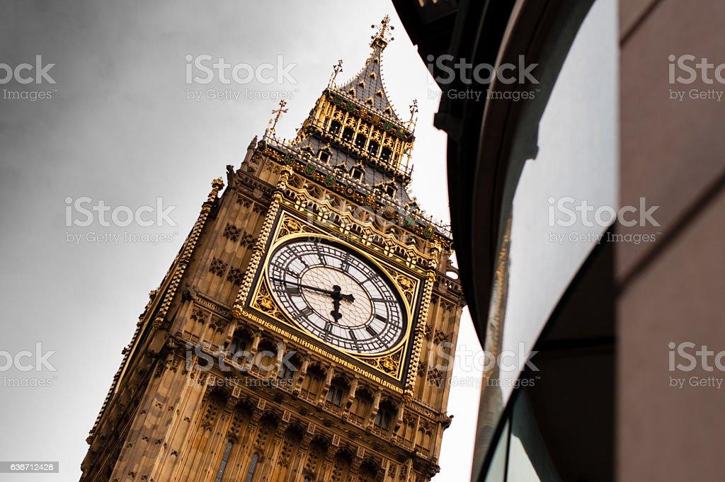 Close up of Big Ben stock photo