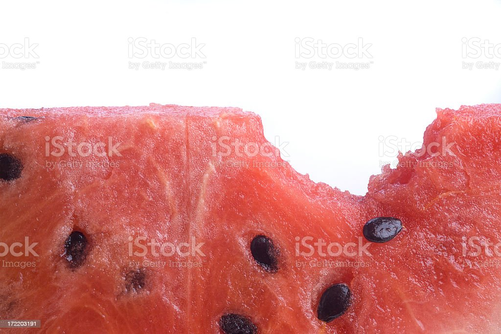 Close up of bite royalty-free stock photo
