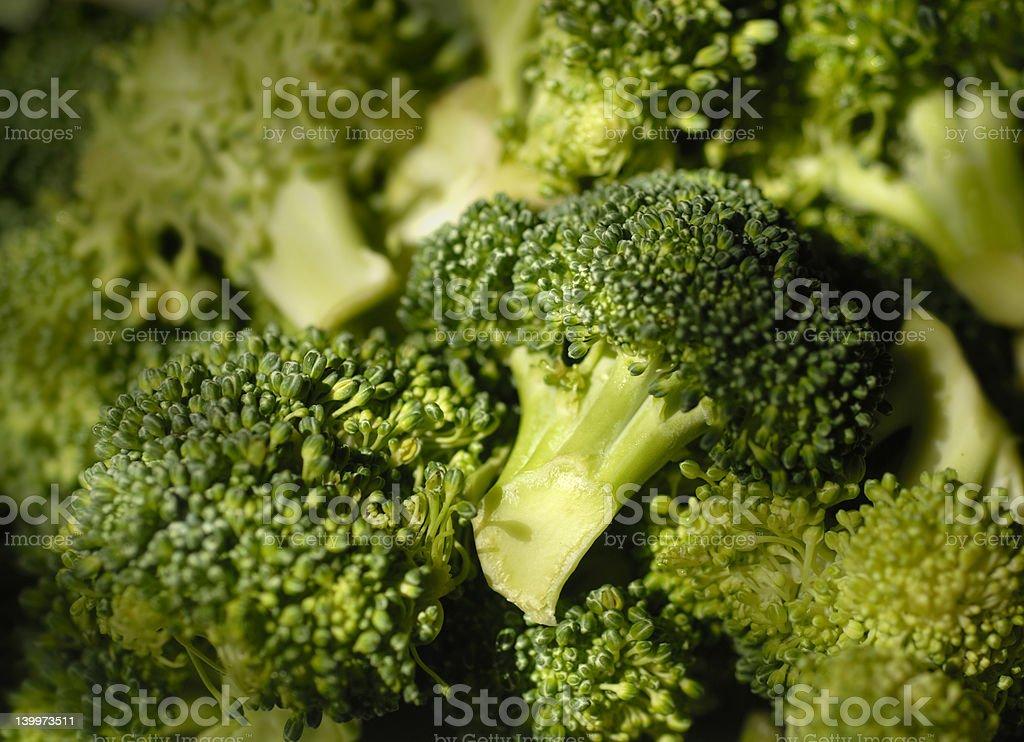 Close up of Broccoli stock photo