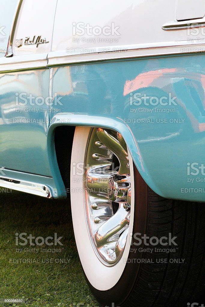 Primo piano di Cadillac foto stock royalty-free