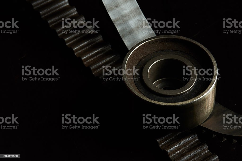 close up of car part stock photo