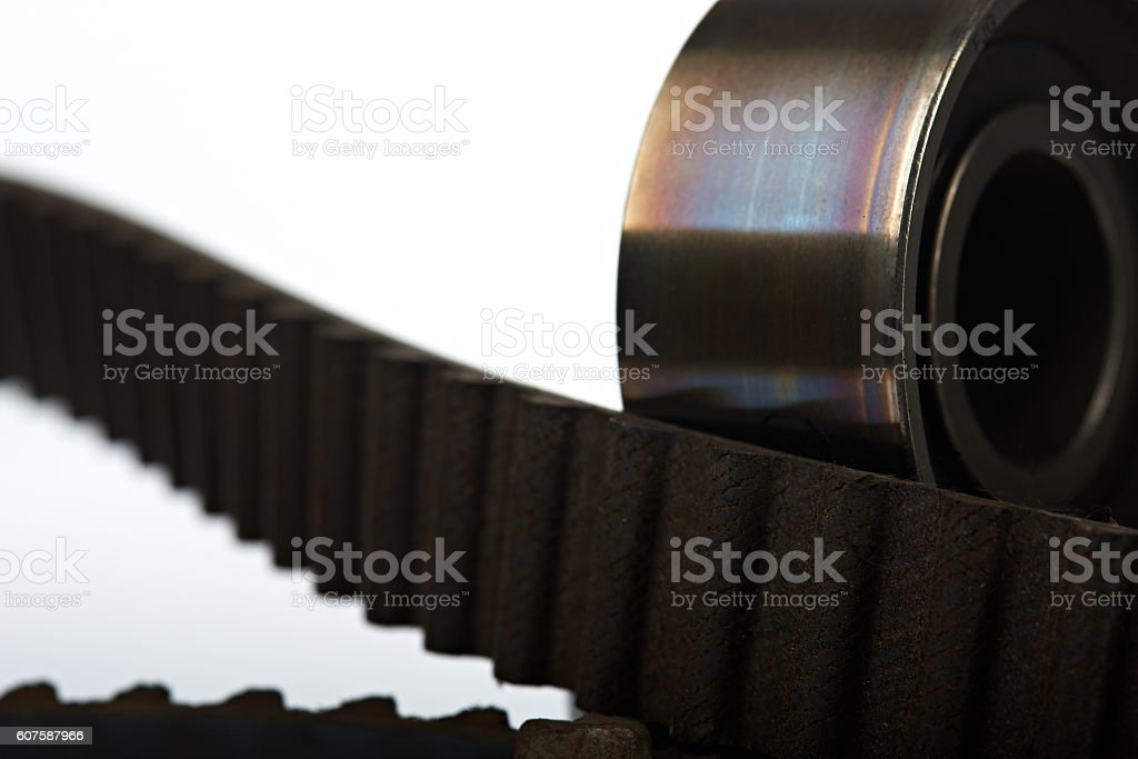 close up of car parts stock photo