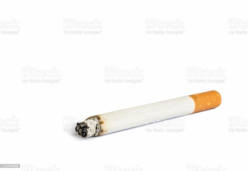 Close up of Cigarette. stock photo