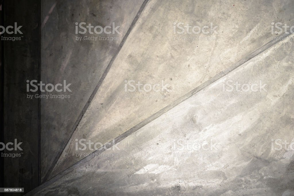 Close up of concrete spiral stairways photo libre de droits