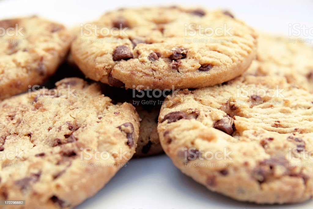Close up of cookies royalty-free stock photo