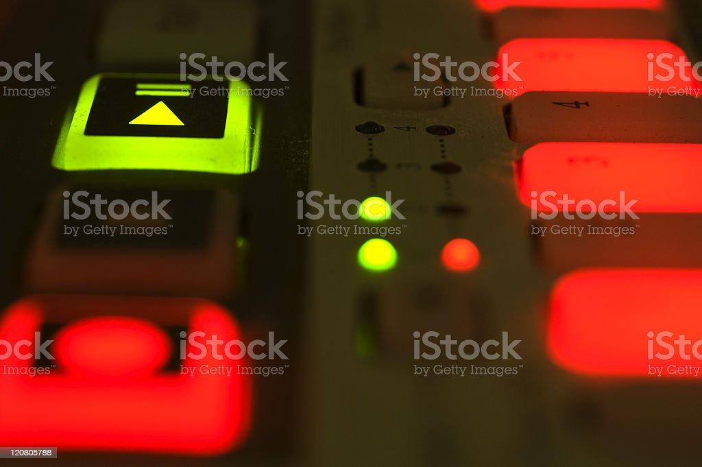Close up of Drum Machine stock photo