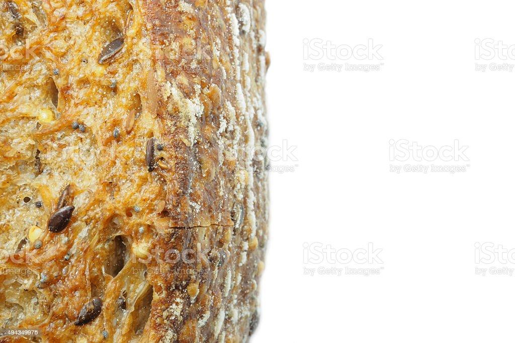 Close-up de ecológica e pão de centeio integral foto royalty-free
