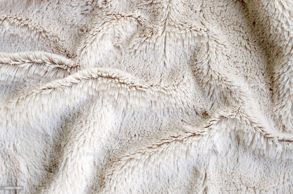 close up of faux fur stock photo