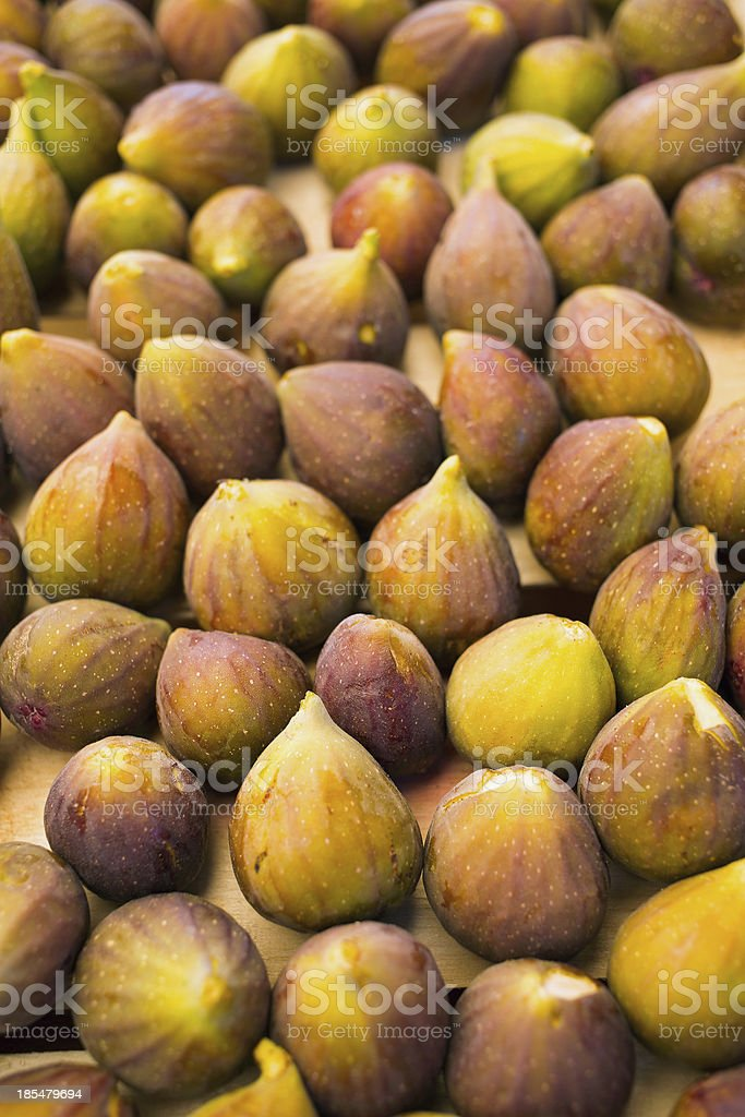 Close up of figs royalty-free stock photo