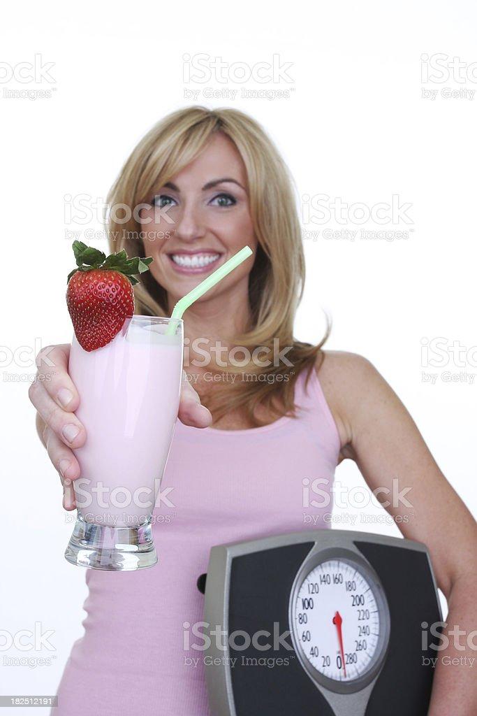 close up of fruit smoothie royalty-free stock photo