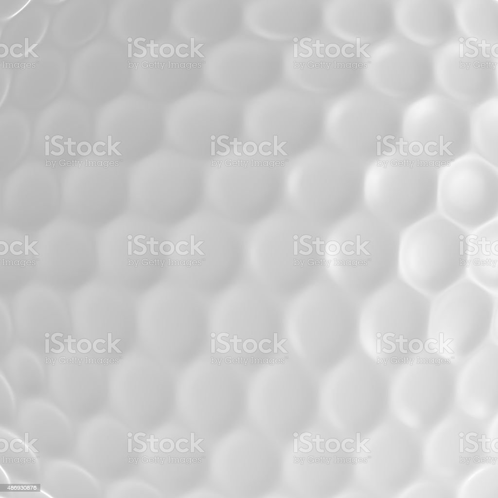Close Up Of Golf Ball stock photo