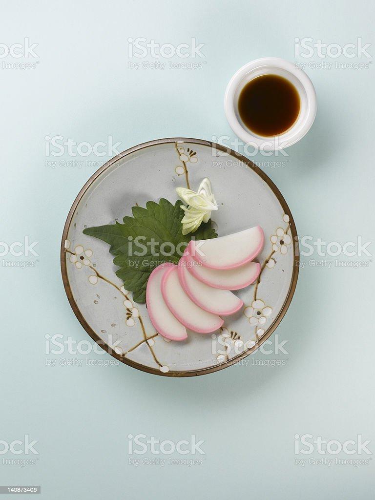 Close up of Japanese rice dessert stock photo