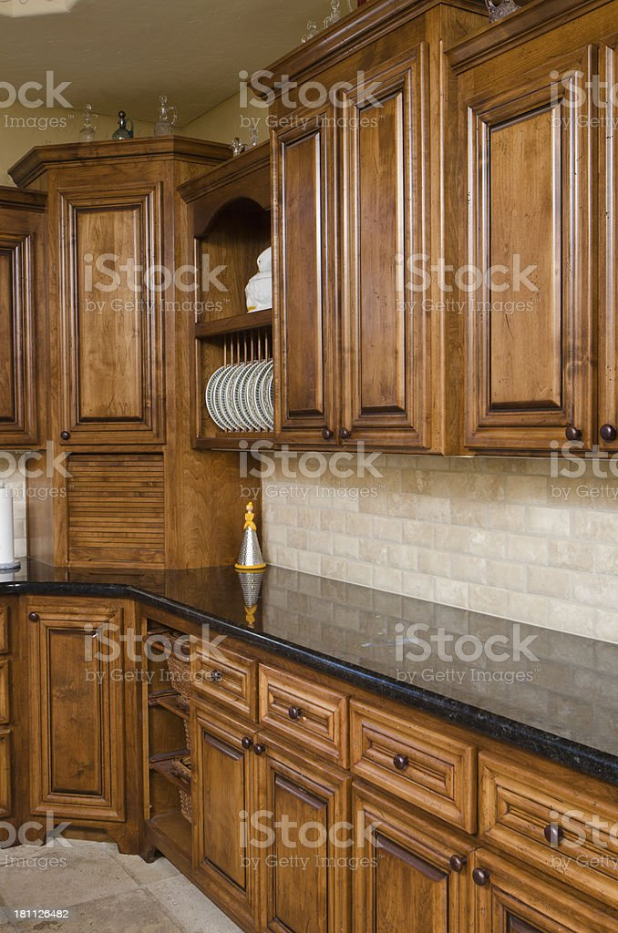 Close up of kitchen royalty-free stock photo