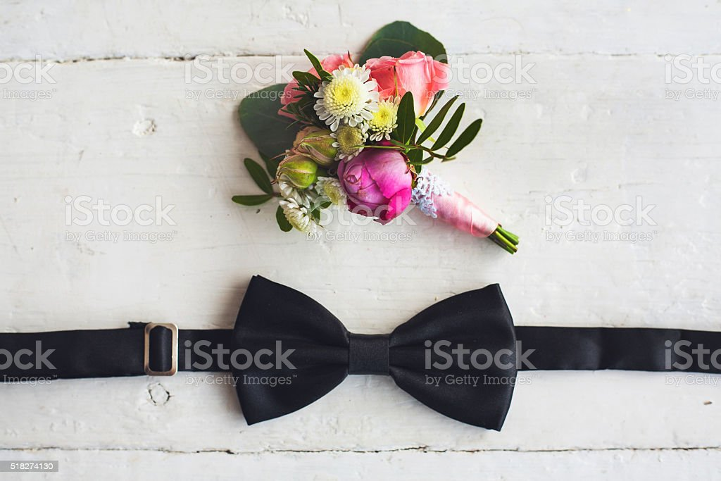 Close up of man accessories stock photo