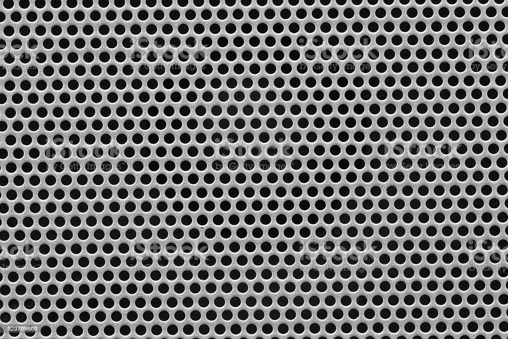 Close up of meshed grill stock photo