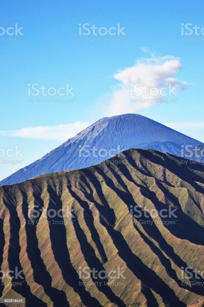 Close up of Mt Bromo stock photo