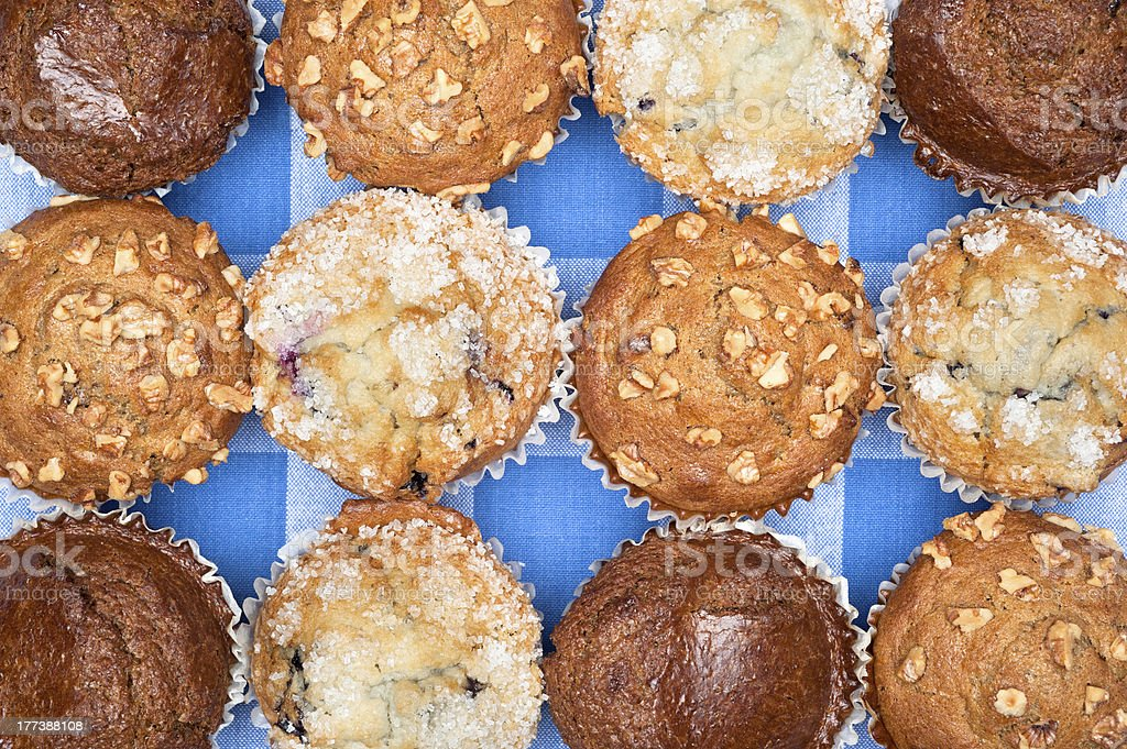 Close up of muffins royalty-free stock photo