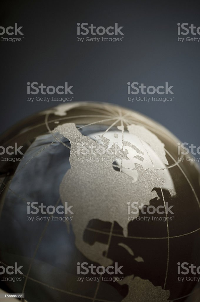 close up of North America royalty-free stock photo