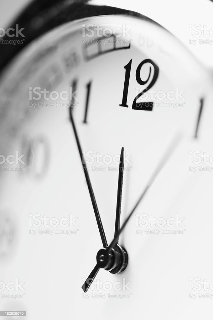 Close up of old fashioned pocket watch face royalty-free stock photo