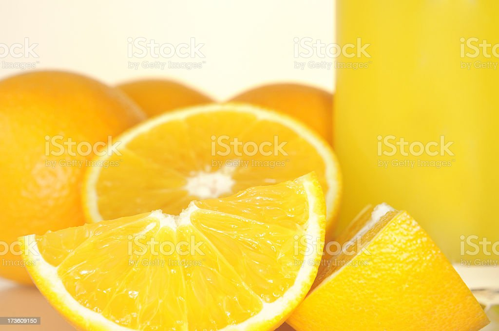 close up of oranges royalty-free stock photo