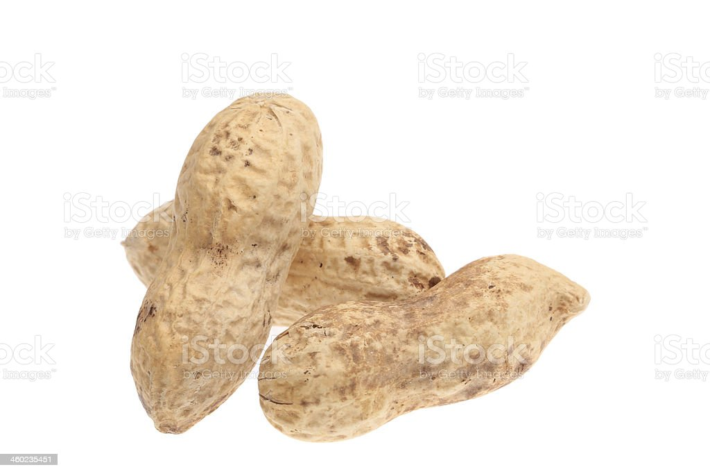 Close up of peanut. royalty-free stock photo