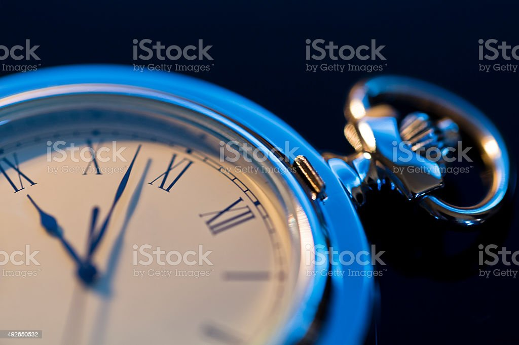 Close up of Pocket Watch stock photo