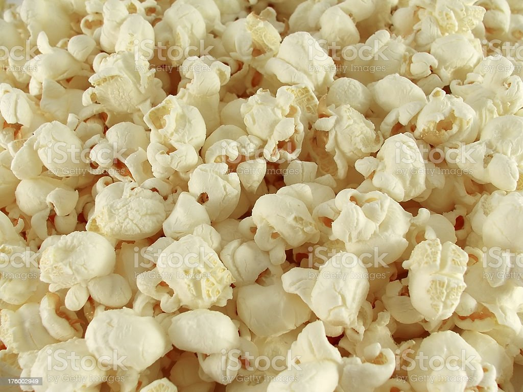 Close up of popcorn royalty-free stock photo