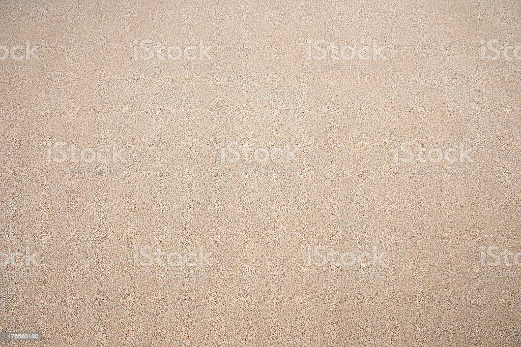 Close up of pure sand background stock photo