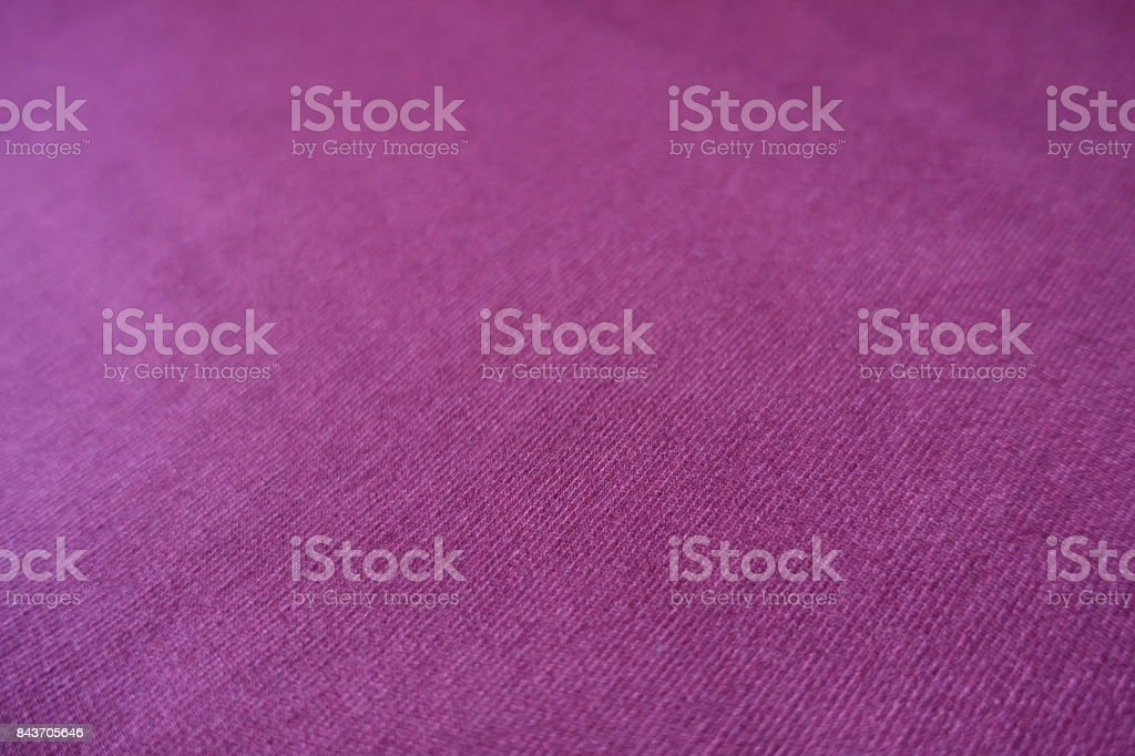 Close up of red violet stockinette textile stock photo