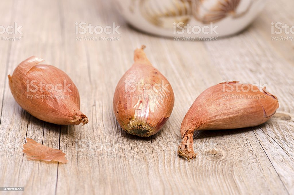 Close up of scallions royalty-free stock photo