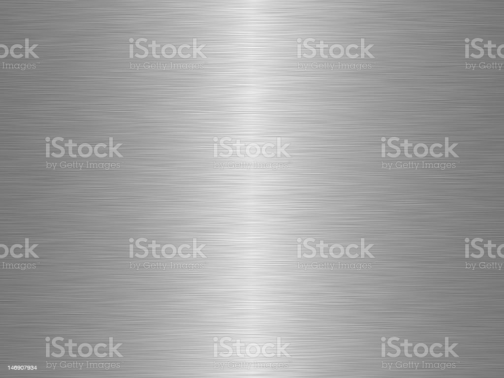 Close up of shiny silver metal stock photo